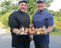 Mr Merlet Et Mr Joyau en cuisine